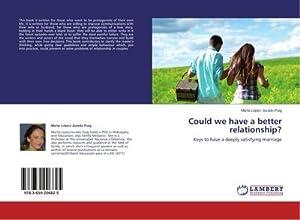 Could we have a better relationship? : Marta López-Jurado Puig