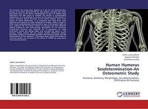 Human Humerus Sexdetermination-An Osteometric Study : Humerus,: Sadhu Lokanadham