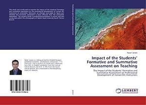 Impact of the Students' Formative and Summative: Naser Janani