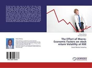The Effect of Macro-Economic Factors on stock: Tobias Olweny