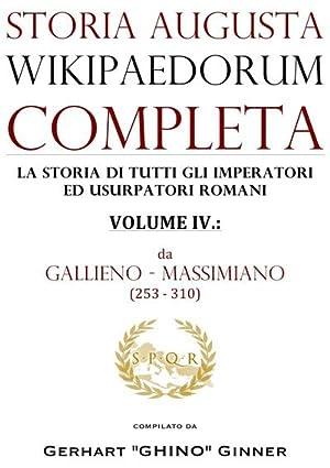 storia augusta wikipaedorum completa - IV. : Gerhart Ginner