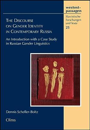 The Discourse on Gender Identity in Contemporary: Dennis Scheller-Boltz