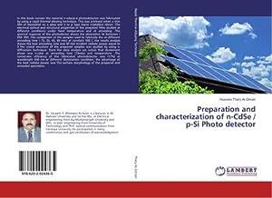 Preparation and characterization of n-CdSe / p-Si Photo detector: Hussein Thary Al-Ghrairi