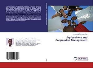 Agribusiness and Cooperative Management: Armstrong Emmanuel Ogidi