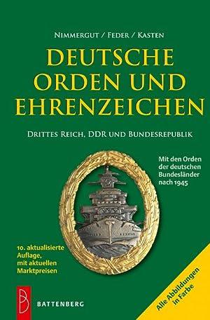 Deutsche Orden und Ehrenzeichen 1800-1945 Bewertung Katalog Buch Nimmergut NEU Verzamelingen