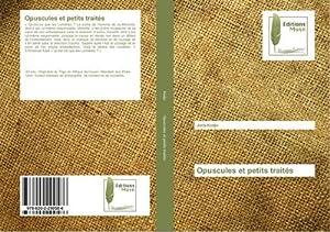 Opuscules et petits traités: Joris Kodjo
