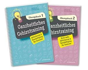 Ganzheitliches Gehirntraining Übungsbücher 1+2 im Set : Aktivierung & Beschäftigung für ...