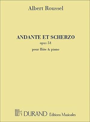 Andante et scherzo op.51 :pour flûte et: Albert Charles Paul