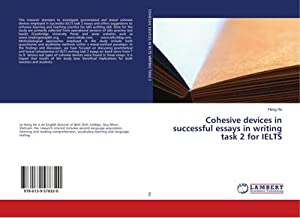 Cohesive devices in successful essays in writing task 2 for IELTS: Hang Ho