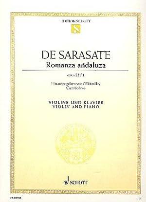 Romanza andaluza : op. 22/1. Violine und: Pablo de Sarasate
