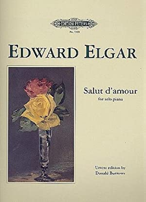 Salut d'amour : for piano: Edward Elgar