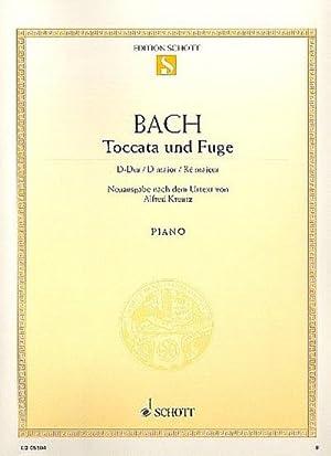 Toccata und Fuge D-Dur BWV912 : für: Johann Sebastian Bach