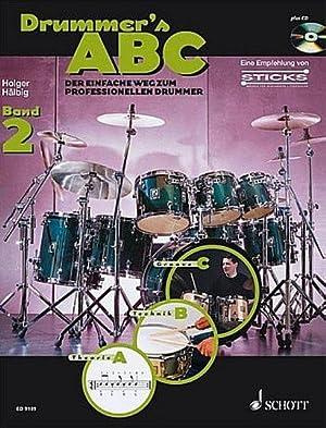 Drummer's ABC Band 2 (+CD) :für Schlagzeug: Holger Hälbig