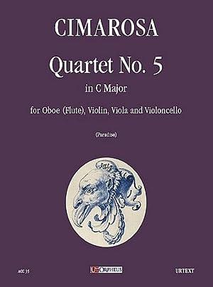 Quartet C major no.5 : for oboe(flute),