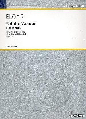 Salut d'amour op.12 (in E Major) :for: Edward Elgar