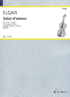 Salut d'amour op.12 (in D Major) :for: Edward Elgar