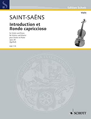 Havanaise 83 28: for Violin and Piano with Separate Violin Part Op Op /& Introduction and Rondo Capriccioso
