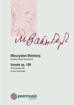 Mieczyslaw piano 9790003039398 6 op Sonata no 73 Weinberg