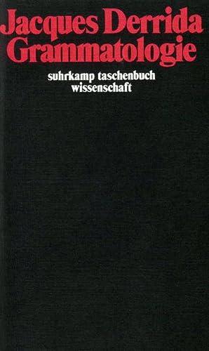 Grammatologie: Jacques Derrida