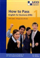 How to Pass. English for Business (EfB).