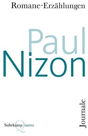 Romane, Erzählungen, Journale: Paul Nizon