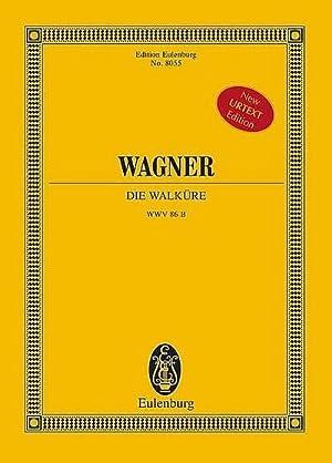 Die Walküre (Oper) Studienpartitur New Urtext Edition: Richard Wagner