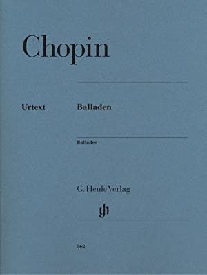 Balladen: Frédéric Chopin
