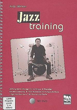 Jazztraining, Schlagzeug, m. DVD: Andy Gillmann