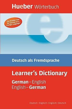 Hueber Wörterbuch Learner's Dictionary : Deutsch als