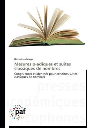 Mesures p-adiques et suites classiques de nombres: Hamadoun Maïga