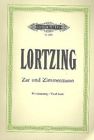 Zar und Zimmermann: Albert Lortzing