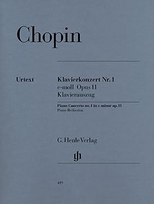 Klavierkonzert Nr. 1 e-moll Opus 11: Frédéric Chopin