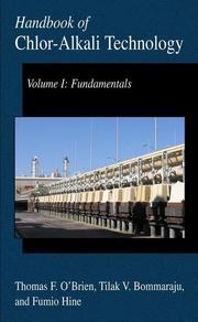 handbook of chlor-alkali technology volume i