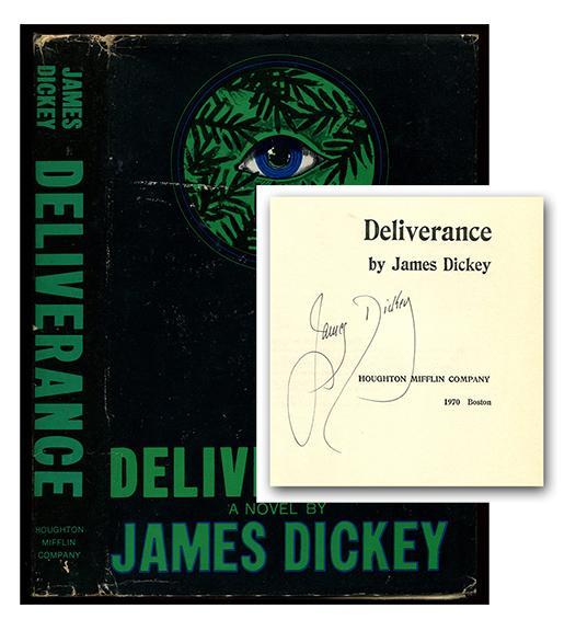 DELIVERANCE.: Dickey, James.
