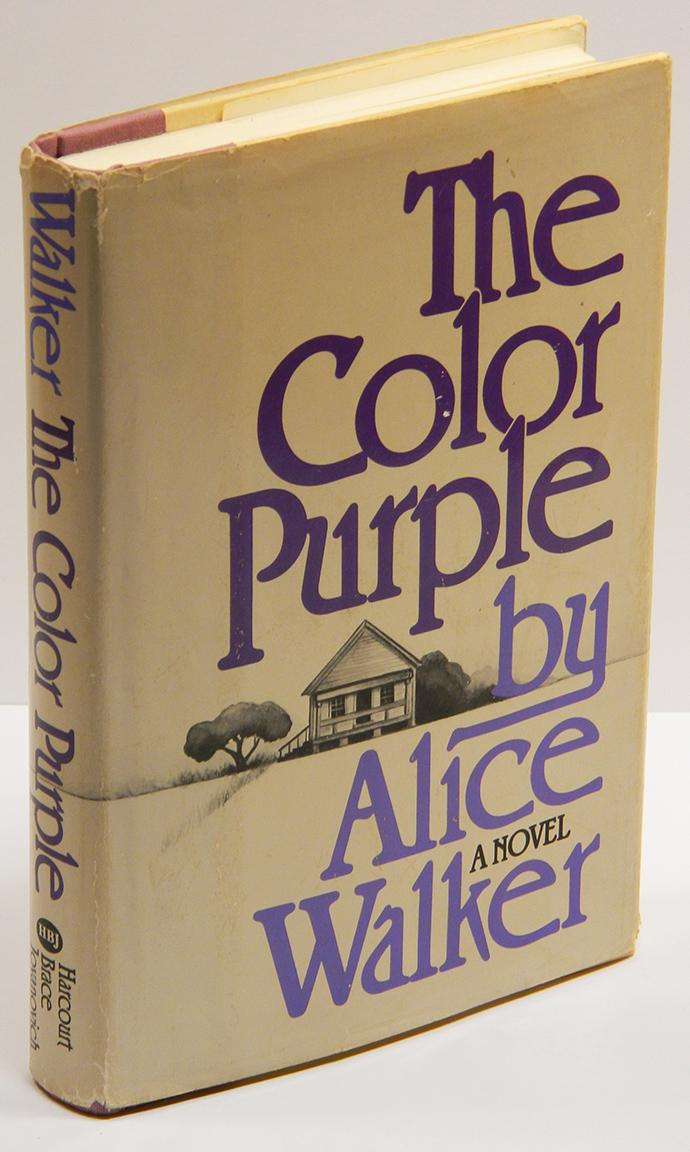 THE COLOR PURPLE. by Walker, Alice.: Harcourt Brace (1982). Signed ...