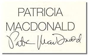 STOLEN IN THE NIGHT.: MacDonald, Patricia.