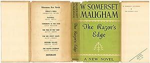 THE RAZOR'S EDGE.: Maugham, W. Somerset.