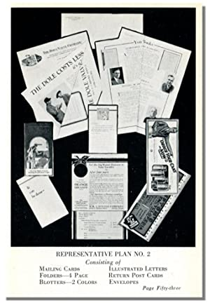ADVERTISING - SELLING: With a Budget Plan.: Hobart, P. G., H. D. Ingalls, and F. W. Bond.