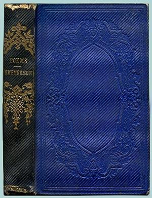 POEMS.: Emerson, R[alph] W[aldo].