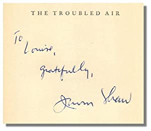 THE TROUBLED AIR.: Shaw, Irwin.