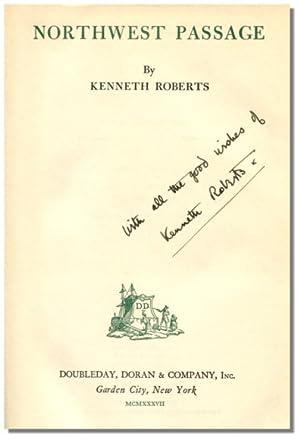 NORTHWEST PASSAGE.: Roberts, Kenneth.