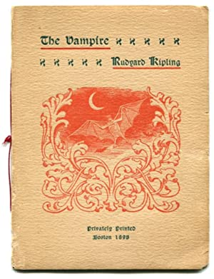 THE VAMPIRE.: Kipling, Rudyard.