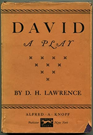 DAVID A Play.: Lawrence, D. H.