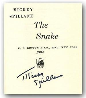 THE SNAKE.: Spillane, Mickey.