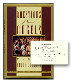 QUESTIONS ABOUT ANGELS: Poems.: Collins, Billy.