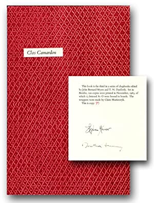 CLOS CAMARDON.: Yenser, Stephen; Dorothea Tanning, illustrator.