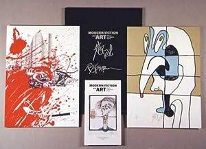 MODERN FICTION AND ART: Prints by Contemporary Authors.: Steadman, Ralph; Kurt Vonnegut.