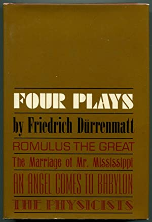 FOUR PLAYS.: Durrenmatt, Friedrich.