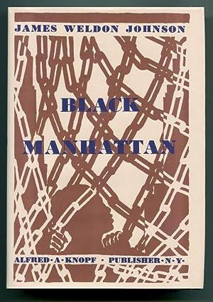 BLACK MANHATTAN.: Johnson, James Weldon.