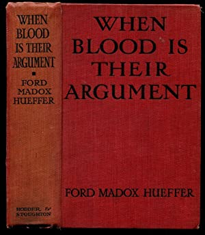 WHEN BLOOD IS THEIR ARGUMENT: An Analysis of Prussian Culture
